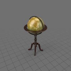 Standing celestial globe
