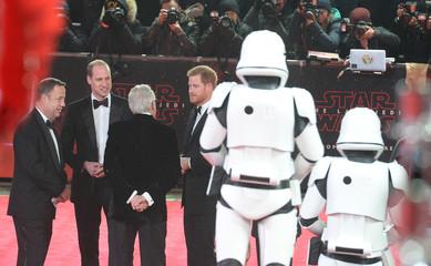 Star Wars: The Last Jedi European Premiere - London
