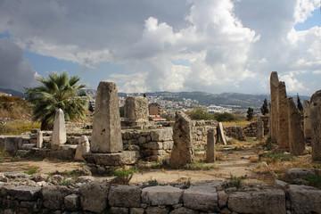 Roman ruins view, Byblos, Lebanon