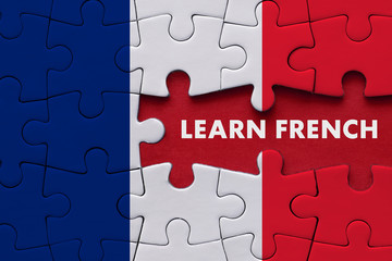 Learn French - Education Concept