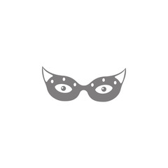 Carnival mask Icon. Web element. Premium quality graphic design. Signs symbols collection, simple icon for websites, web design, mobile app, info graphics