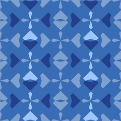 Japanese geometric seamless pattern