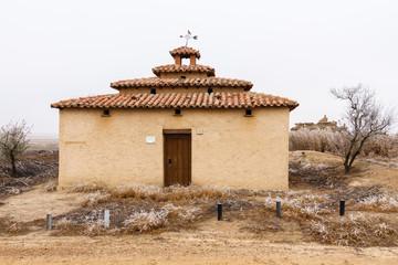Palomar restaurado. Otero de Sariegos. Reserva Natural Lagunas Villafáfila, Zamora.