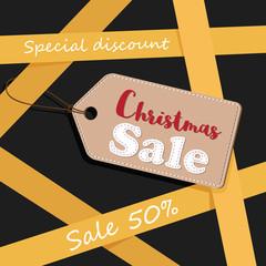 Christmas banner sale.