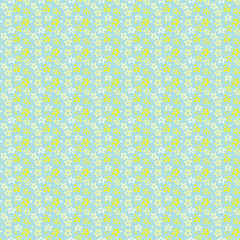 Illustrated seamless pattern