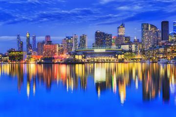 Me Docklands Arena Blue Dark