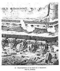 Siege artillery at the beginning of the 16th century (from Spamers Illustrierte Weltgeschichte, 1894, 5[1], 261)