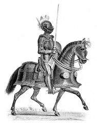 German armor from the first part of the 16th century (from Spamers Illustrierte Weltgeschichte, 1894, 5[1], 265)