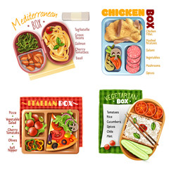 Boxed Lunch Design Concept