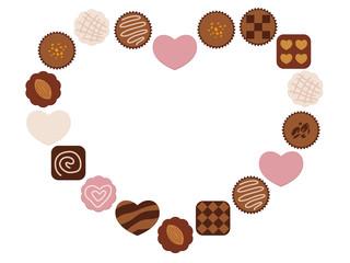 バレンタインデー チョコレートフレーム