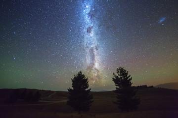 Milky Way and Night sky at  New Zealand