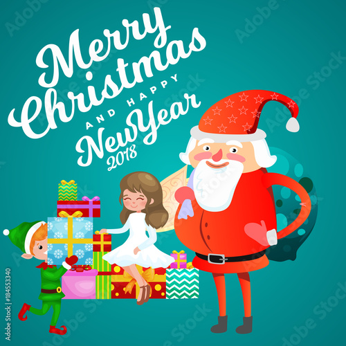 Santa claus in red hat with beard sits on chair with hare in hand santa claus in red hat with beard sits on chair with hare in hand which makes m4hsunfo