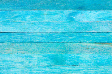 Blue wood panel background, Abstract plank for texture.