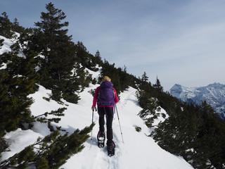 Schneeschuhwanderung im Karwendel