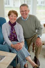 Portrait of mature couple