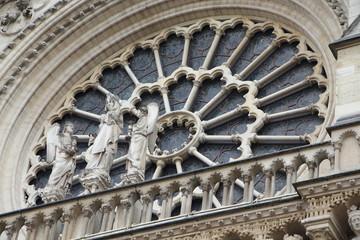 Notre-Dame de Paris. Notre-Dame Cathedral.  Paris, France.