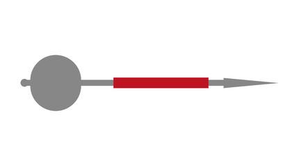 Isolated dart design