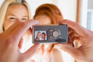 Woman having their picture taken