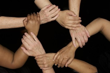 empowerment and diversity women's hands symbolize unity and empowerment