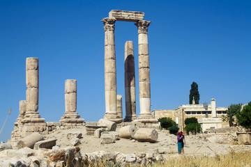 La citadelle d'Amman - Jordanie
