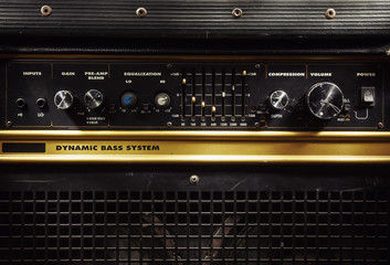 Old Bass Amplifier