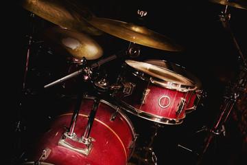 Drums Set in Room