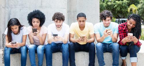 Jugendlicher Chat