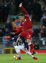 Premier League - Liverpool vs West Bromwich Albion