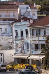 Architecture buildings from Monchique village