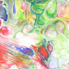 Fluid acrylic paint background