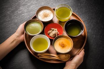 代表的な和スイーツ traditional Japanese Sweet taste desert