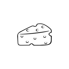 Cheese icon. Breakfast Icon. Premium quality graphic design. Signs, symbols collection, simple icon for websites, web design, mobile app