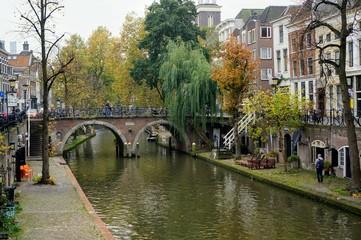 каналы и мосты города Утрехт