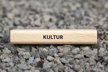 KULTUR - Bilder mit Wörtern aus dem Bereich Rassismus, Wort, Bild, Illustration