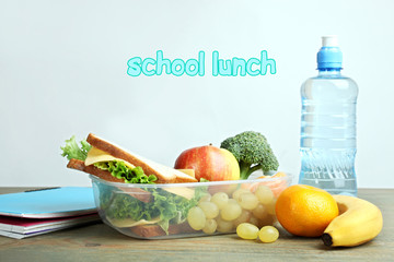 Useful school lunch