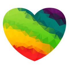 haert triangle rainbow