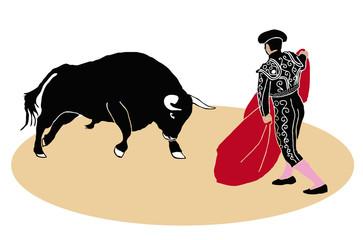 Torero y toro