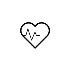 Heart icon Vector illustration, EPS10.