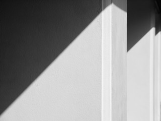 shadow white wall