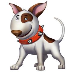 Dog Bullterrier