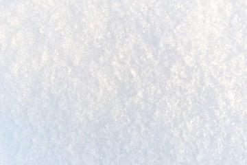 Magic snow background