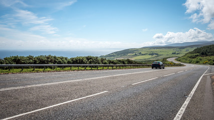 Scottish Highland road trip