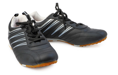 Sports footwear isolated with clipping path.