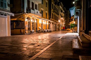 Corfu Town - Kerkyra by night