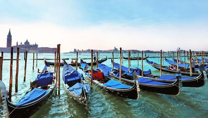 Venedig, Bootsanleger Piazzetta San Marco