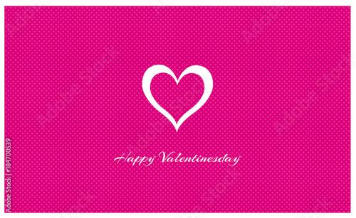 Valentinstag   Karte   Happy Valentinesday