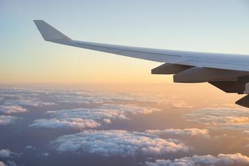 Tragfläche vom Flugzeug
