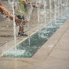 fontaines en centre ville