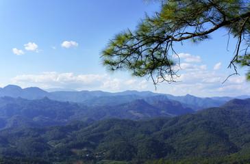 Kiew Lom Viewpoint in Mae Hong Son Province , Thailand