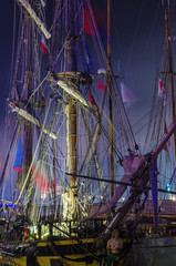 SAILING VESSEL -  Replica of a brig from the 18th century